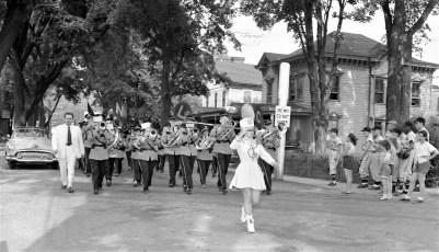 Am. Legion Parade in Chatham 1956 (1)