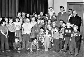 G'town Am. Legion Xmas Party at GCS 1954