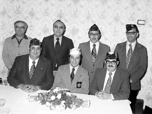Italian American Legion Banquet Hudson 1975 (1)