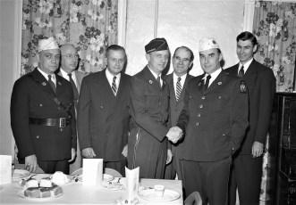 Philmont Legion hosts County Dinner Meeting 1956 (1)