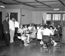Blue Gables transfer party from Henry Tratneck to Russ Lexon June 1961 (4)
