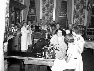 General Worth Hotel bar Hudson 1953