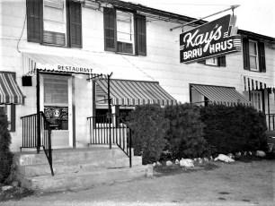 Kay's Brau Haus Rt 9G Tivoli 1958 (1)