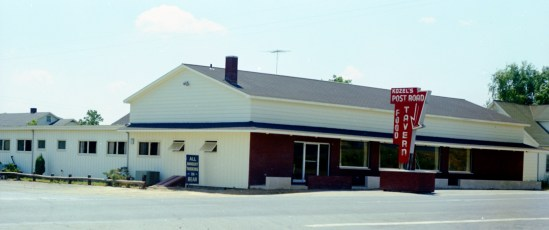 Kozel's Post Road Tavern Rt. 9H W. Ghent 1966 (2)