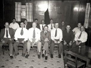 Log Cabin Bar 1949