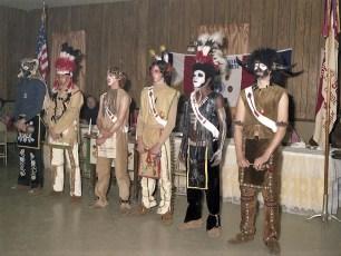 Boy Scout Troop 102 at Am. Legion Post 184 Hudson 1975
