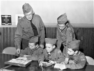 Boy Scout Troop 122 G'town Scout Week 1962 (2)