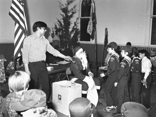 Cub Scout Christmas Party G'town 1976