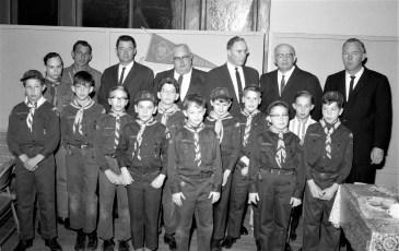 Cub Scout Dinner at Meth. Church G'town 1967