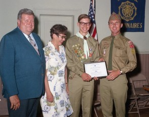 G'town Boy Scout Court of Honor for Tom Westervelt 1970 (1)