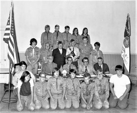 G'town Boy Scouts & Cookout at Dales Bridge 1972 (1)