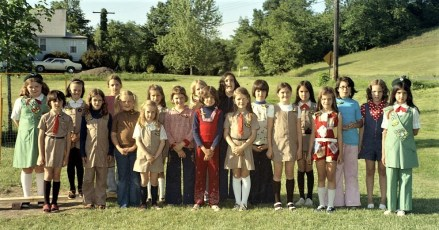 G'town Girl Scouts 1975