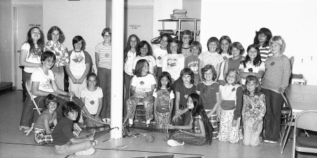 G'town Girl Scouts 1977