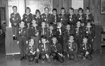 Scout Pack 101 Blue & Gold Dinner Greenport 1977