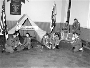Troop 122 Boy Power Display G'town 1969
