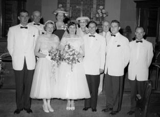 1956 Joan Benton & Neal Burger (2)