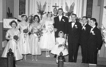 1956 Patricia Kozel & Edward Cebry (2)