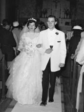 1957 Julie Kosmo & Paul Kelly (1)