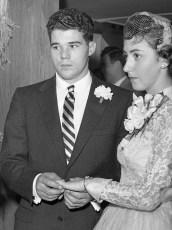 1957 Kitty VanVliet & Mr. Taylor (1)