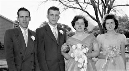 1957 Mildred Pulver & Herbert Weed (2)