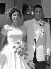 1960 Clarice Sheffer & Jerold Kaplan (1)