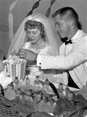 1960 Loraine Marshall & Ronald Rustick (1)