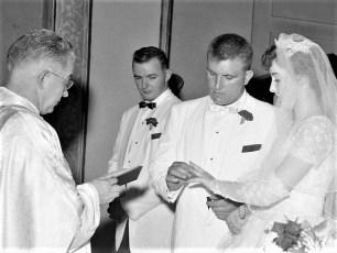 Kathy Hoflinger & Phil Ackert 1955 (1)