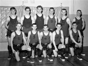 Chatham Central School Varsity Basketball Team 1958