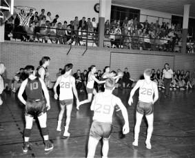 Chatham High School Basketball 1957 (1)