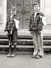 Catholic First Comm 1948 9