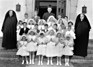 Church of The Resurrection Confirmation 1956