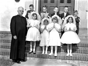 Church of the Resurrection 1st Communion 1959