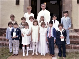 Church of the Resurrection 1st Communion G'town 1977