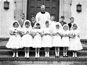 Church of the Resurrection Confirmation 1954