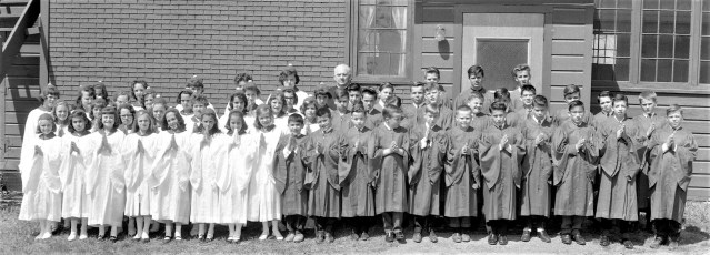 Church of the Resurrection Confirmation G'town 1965