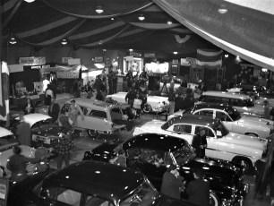 Auto Show Hudson Armory 1954