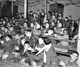 Boys Club Christmas Party Hudson 1954