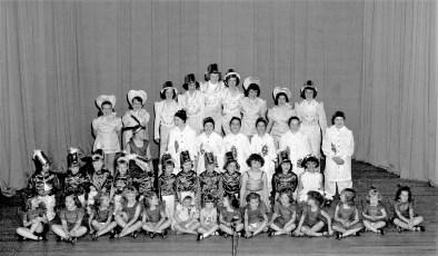 Dance Troupe Hudson 1951