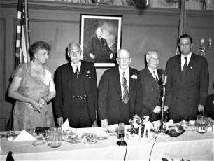 Eleanor Roosevelt General Worth Hotel Hudson 1952 (2)