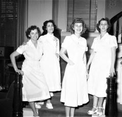 General Worth Hotel waitresses 1954