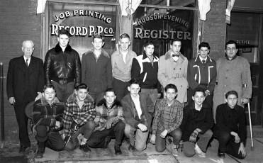 Hudson Register Paper Boys 1954