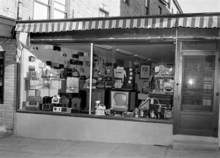 Mattis Store Front Hudson 1954