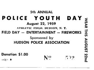 5th Annual Hudson Police Youth Day  Aug. 1959 (3)