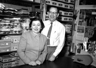 Ben's Store Hudson 1955