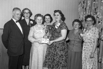 Bowling Banquet Mahota's Rest. Hudson 1956