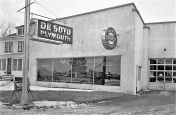 Canape Brothers Motor Sales  Fairview Ave. Hudson 1957 (1)