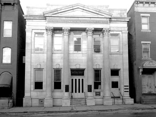 Farmers National Bank merges with National Commercial Bank Hudson 1959