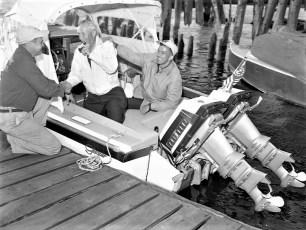Hudson Power Boat Asso. welcomes 2 men bound for Oregon 1959 (3)