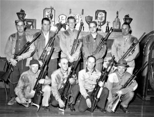 Hudson Rod & Gun Club Competition Rifle Team 1957