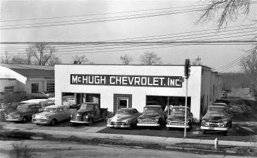 McHugh Chevrolet Green St. Hudson 1957